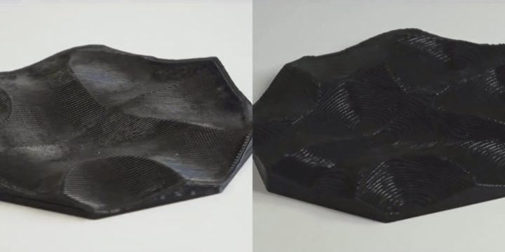 Nonplanar 3D Printing Gives Curvy Top Layers
